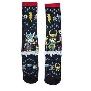 Loot Crate Marvel Thor/Loki socks